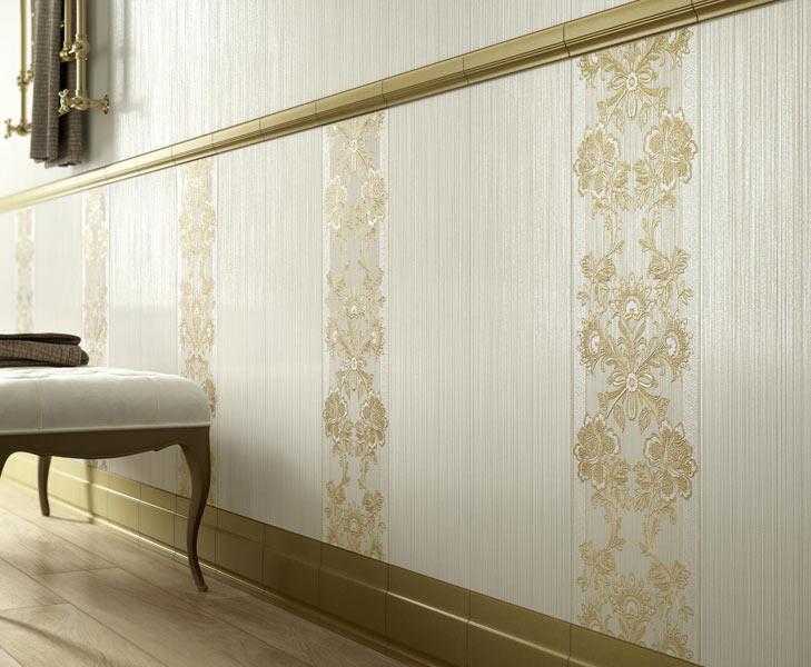 Wallpaper ragno trend italy - Rivestimenti bagno classici ...